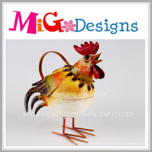 Wholesale High Quality Metal Craft Cock Yard Decoration
