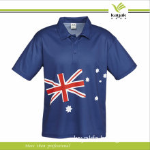 Cotton High Quality Printed Polo T Shirts for Man Fashion Design for Promotional Polo Shirt (F144)