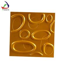 panel de pared de formación de vacío profesional ABS textura plástica