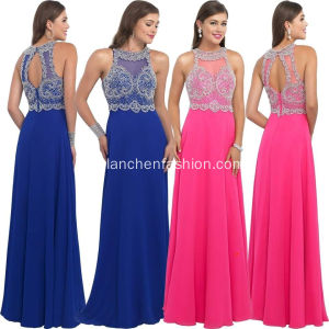Prom formale Cocktail Chiffon Abendkleid