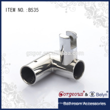 90 degree connecting bathroom hardware accessories