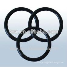 O-ring de borracha preta / o anel