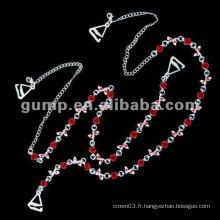 Sangles de soutien-gorge en métal (GBRD0189)