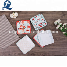 Good Quality Durable Party Use Food Tray Ceramic Printing Plate