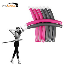 Body Building Fitness flexible extraíble Hula Hoop