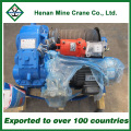 Single Drum Wire Rope Electric Winch Slow Lifting Speed