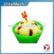 Molde de pastel de silicona de calidad alimentaria