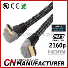 Cable HDMI de ángulo recto