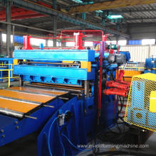 Cutting to size steel sheet