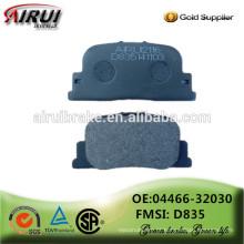 Famosas almofadas de freio qualidade OE, fabricante auto peças de vendas quente (OE: 04466-32030 / D835)