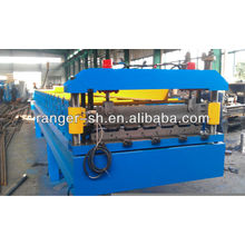 Steel sheet piles cold roll forming machine