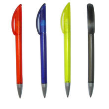 Plastic Click Pen 4 color