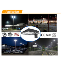 Warm White 75w-300w Led Shoe Box Light