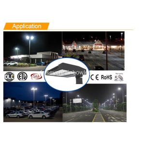 Blanc chaud 75w-300w Led Shoe Box Light