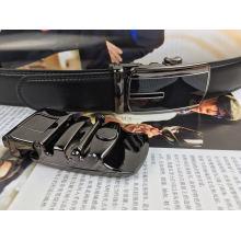 Genuine Leather Ratchet Belt for Men (HPX-160802)