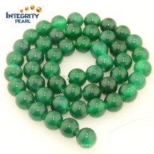 Hot Sale Green Druzy Agate Stone Size 4 6 8 10 12mm Natural Semi Precious Beads Agate