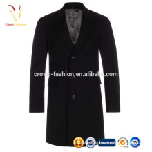 Шерсть длинная зима теплый мужские пальто