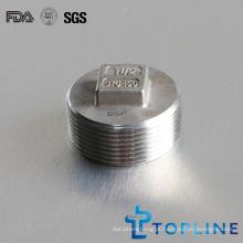 Stainless Steel Square Plug (Acessórios para tubos roscados)