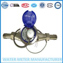 Многоструйный импульсный измеритель расхода воды для нержавеющей стали