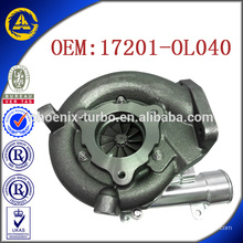 CT16V 17201-OL040 turbocharger for TOYOTA