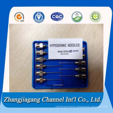 12g-22g Stainless Steel Hypodermic Tubing with Hub