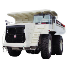 Terex mineração 100ton dump truck tr100 para venda