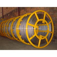 Cuerda de alambre anti torsión