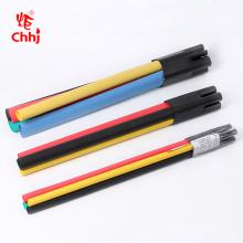 Terminaison de câble thermorétractable de câble de 1 coeur à 5 noyaux XLPE, straigth à travers le joint