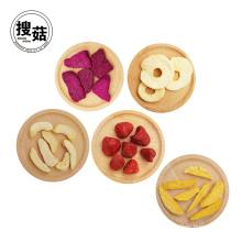 Snack lyophilisé organique naturel de frites de fruit de nourriture