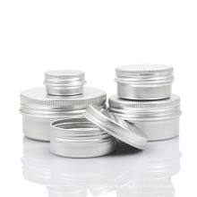 Aluminum Jar, Tin Can for Beauty Cream (NAL01)