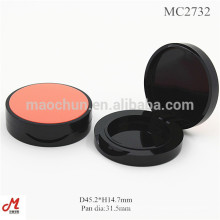 MC2732 Round shape plastic eyeshadow packaging container