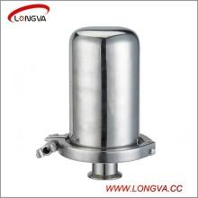 Fabrication en Chine de soupape d'aspiration sanitaire en acier inoxydable