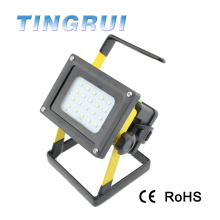Rechargeable Outdoor Floodlight Project flood led light manufacturer