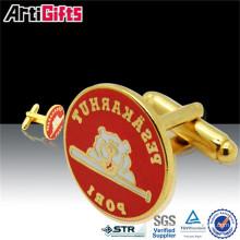 Made in china cheap metal cufflink guangzhou