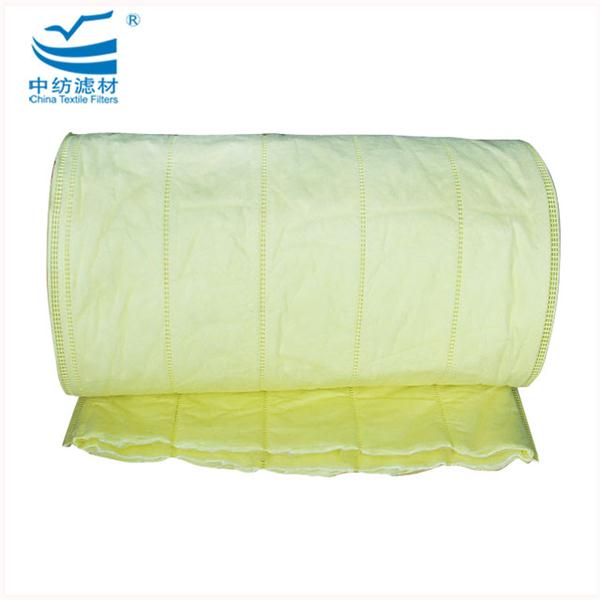 Synthetic Bag Pocket Filter Fabric