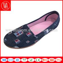 китайские женские туфли на плоской подошве, эспадрильи, лоферы, холст