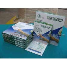 Vaseline Gauze Pad avec CE approuvé