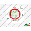 Super hell! ! ! 96W Creee LED-Beleuchtung, 9-Zoll-LED-Arbeitslampe Offroad-Fahren