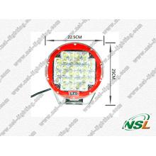 Super brillant! ! ! Éclairage LED Creee 96W, lampe de travail LED 9 pouces conduite hors route