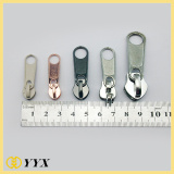 Wholesale non lock shiny silver no.3 sliders