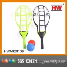 Juego de deporte para adultos Juguetes Juego de bola de captura de plástico
