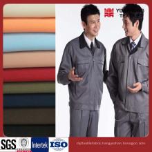 100% Cotton 21*21 108*58 Workwear Fabric