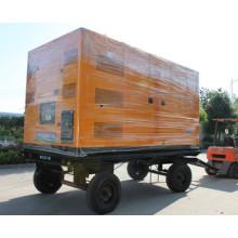 Дизельный бесшумный генератор 120 кВт / 150 кВА Трейлер Мобильный дизельный генератор
