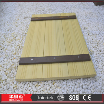 WPC-Bodenbeläge / Composite Deck Alternative zu Boden