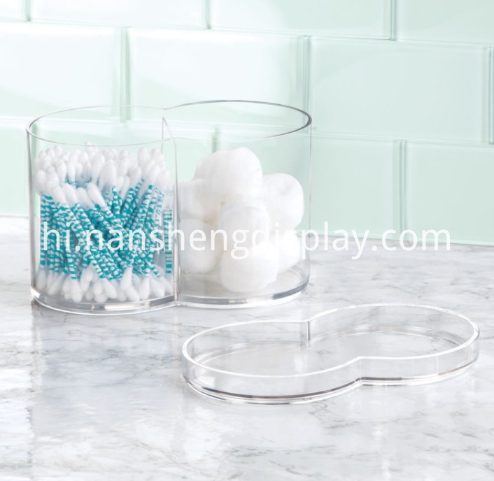 Cosmetic Storage Canister Container