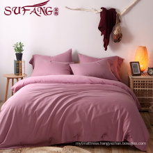 top 5 luxury 5 star hotel High Quality Hotel Bedding Linen Supplier 60sPlainSuper soft cotton flax Bedding Sets