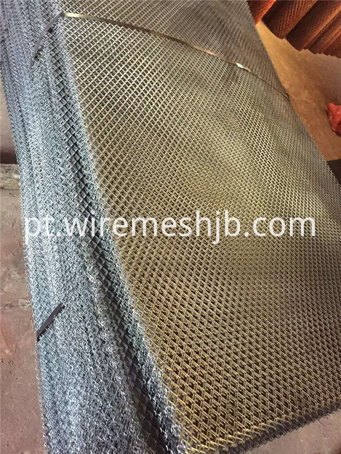 Expanded Metal Mesh Panels