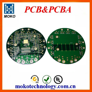 Quick turn 2 layer rohs fr4 led pcb