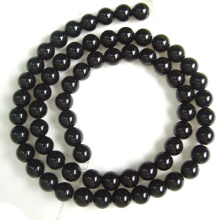 6 Мм черный оникс круглые бусины 16»