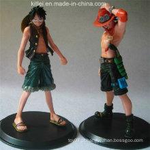 Melhor brinquedo plástico da figura da ação do Sell para a decoração